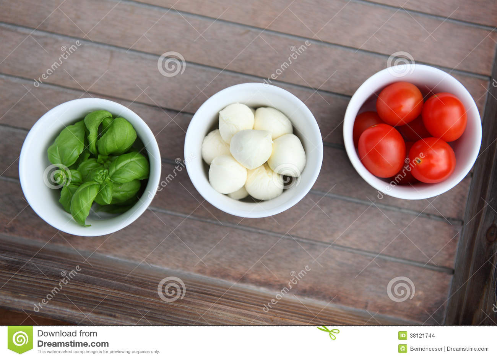 Italienisches Lebensmittel