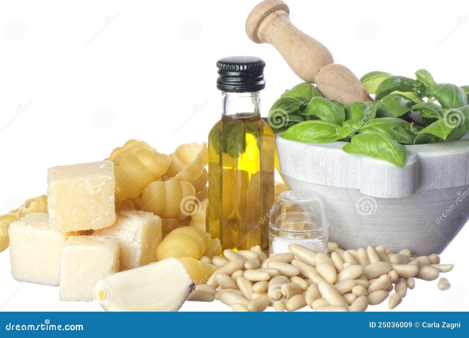 Italiensk pastasmaktillsats för ingredienser