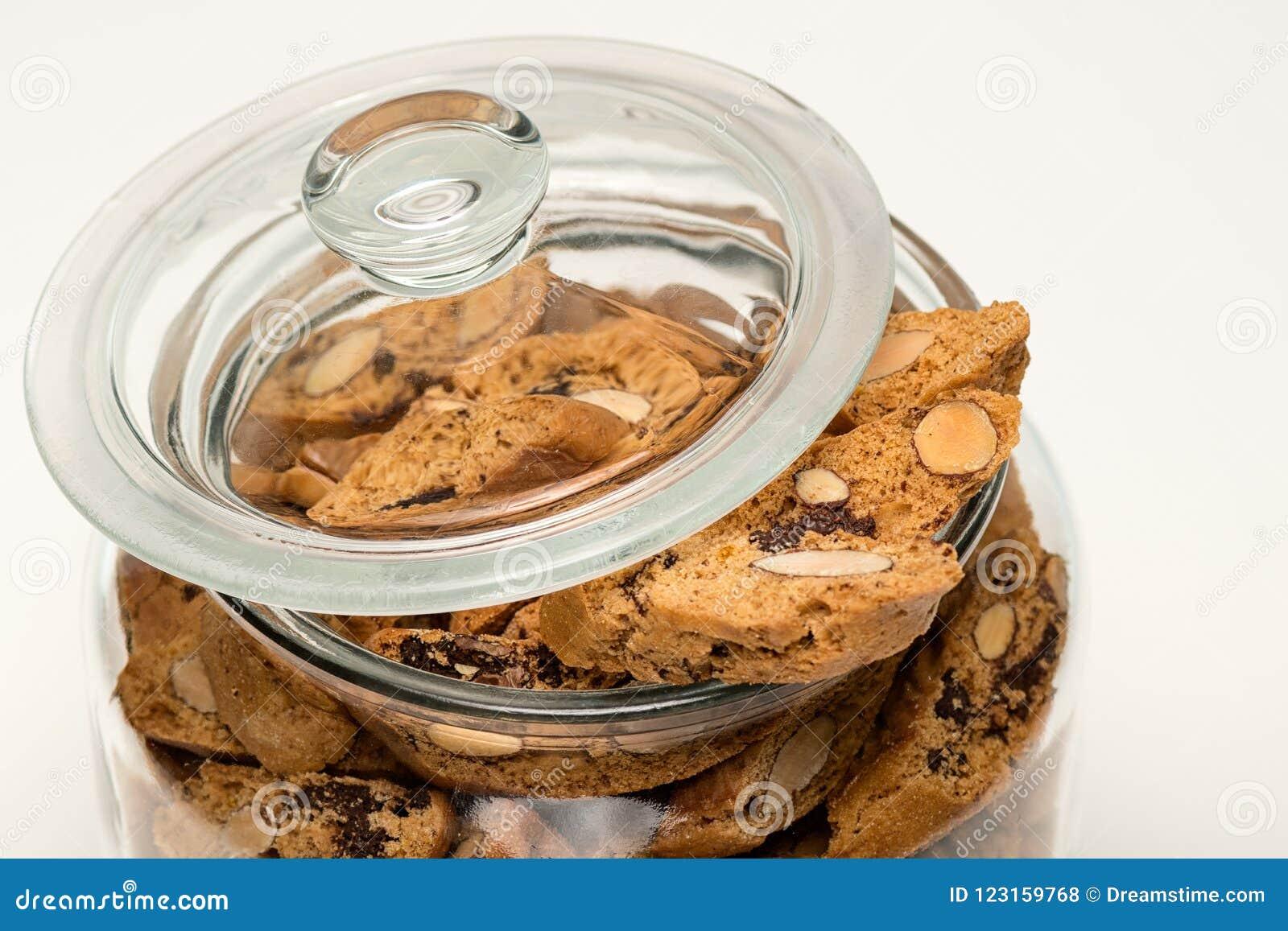 Italienska kakor, Canticcini i en krus