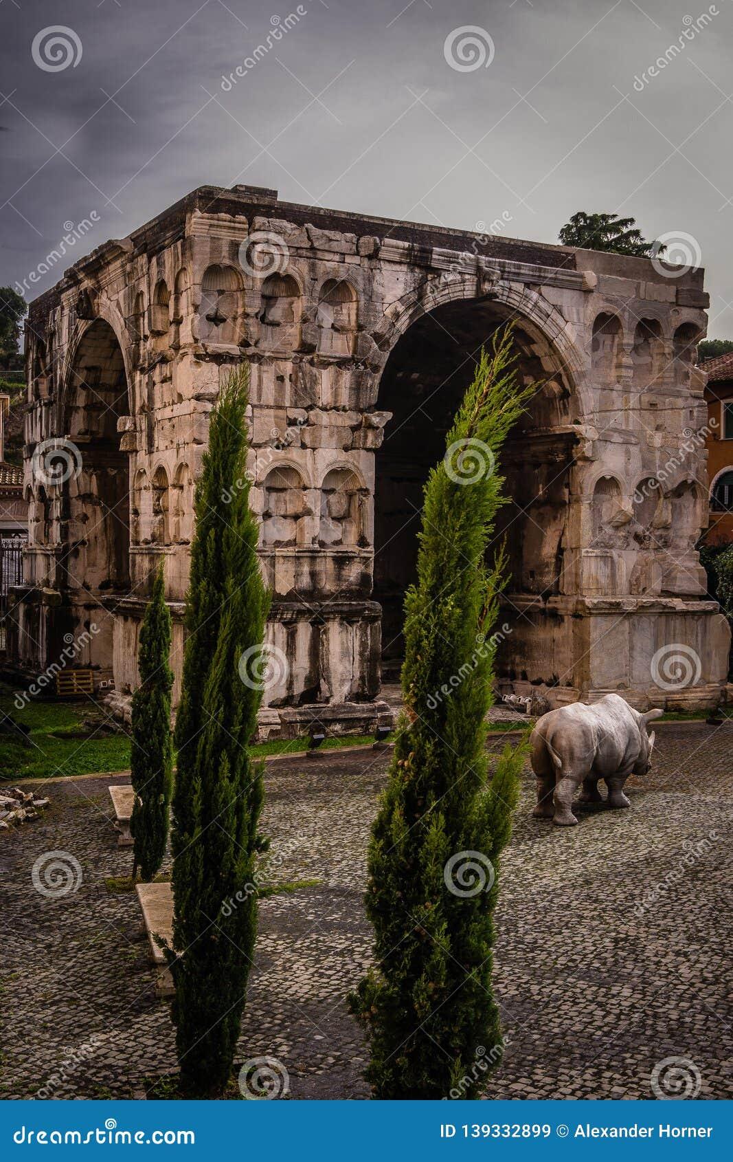 Arco di Giano History City Rome Empire