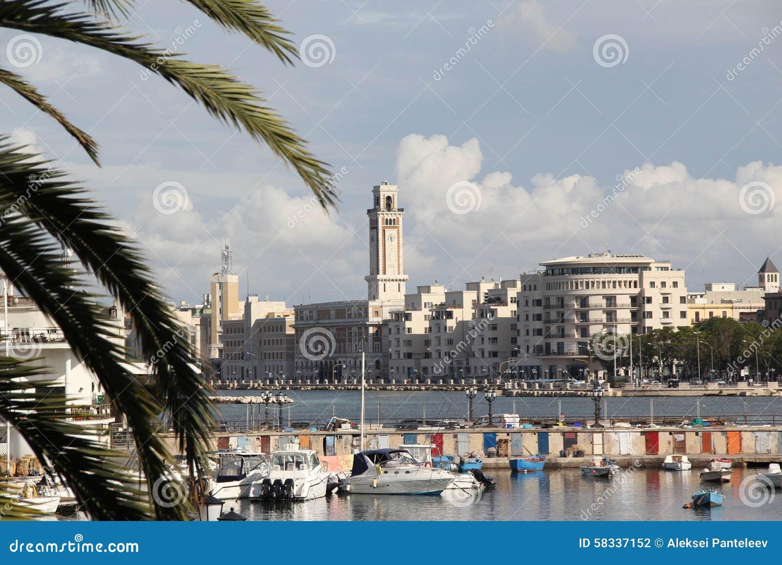 City Of Bari Italy Royalty Free Stock Photo Image 1933485