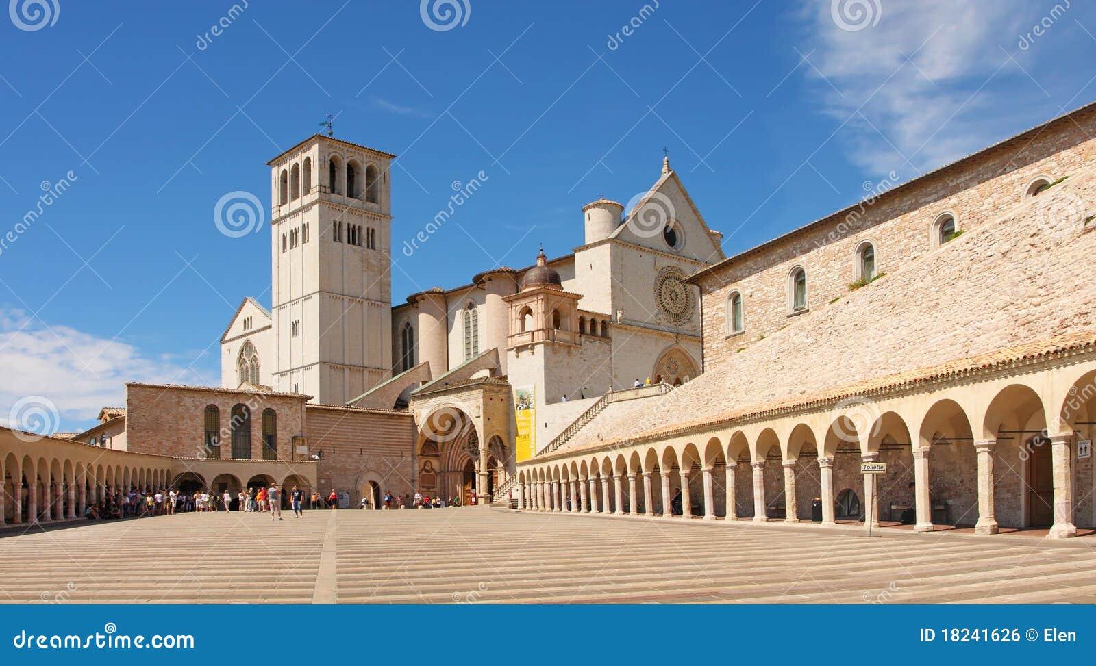 Italy, basilica of San Francesco d Assisi