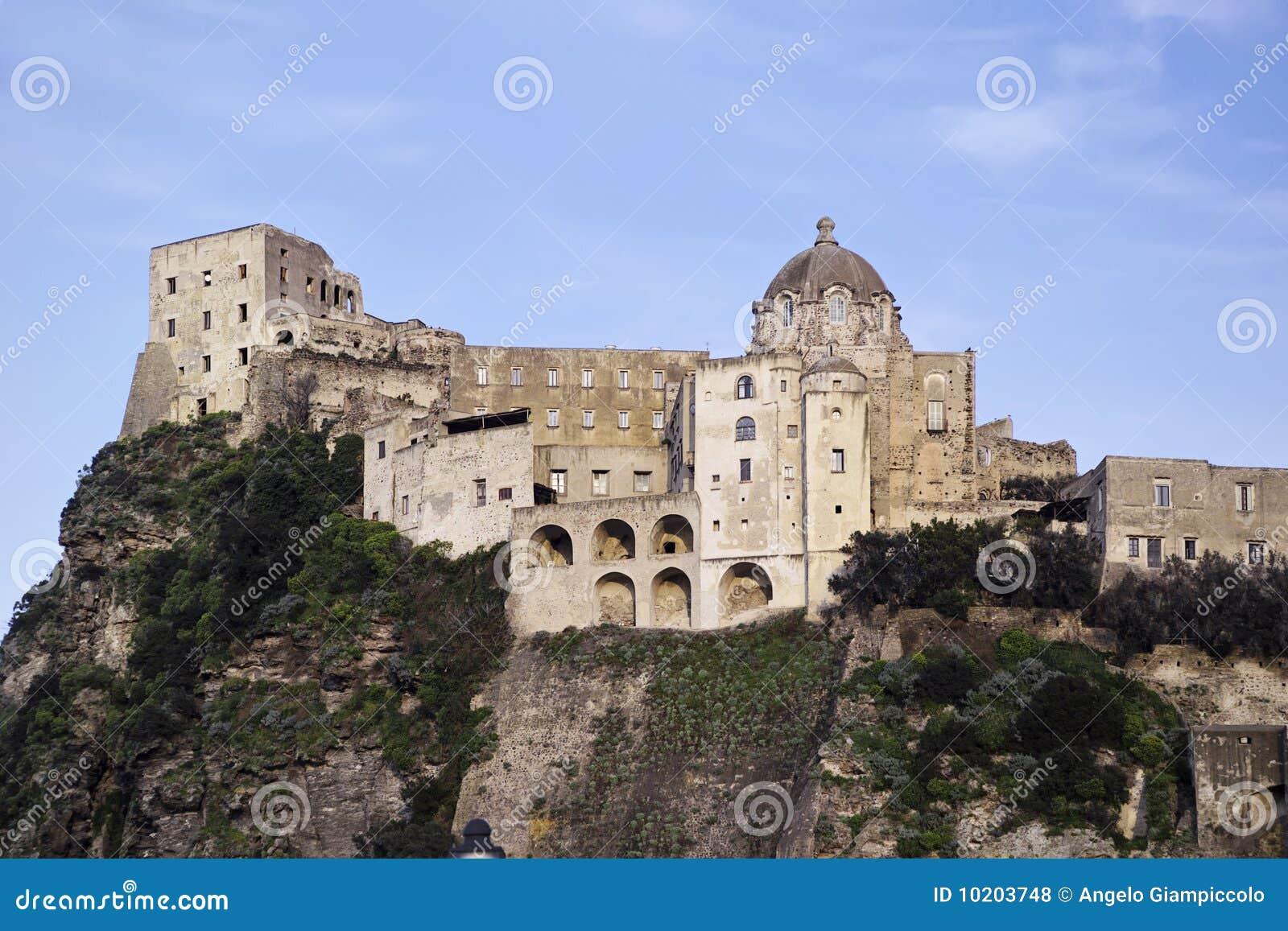 Ischia Island Italy  city photos gallery : ITALY, Campania, Ischia island, Ischia Ponte, Castel S.Angelo aragon ...