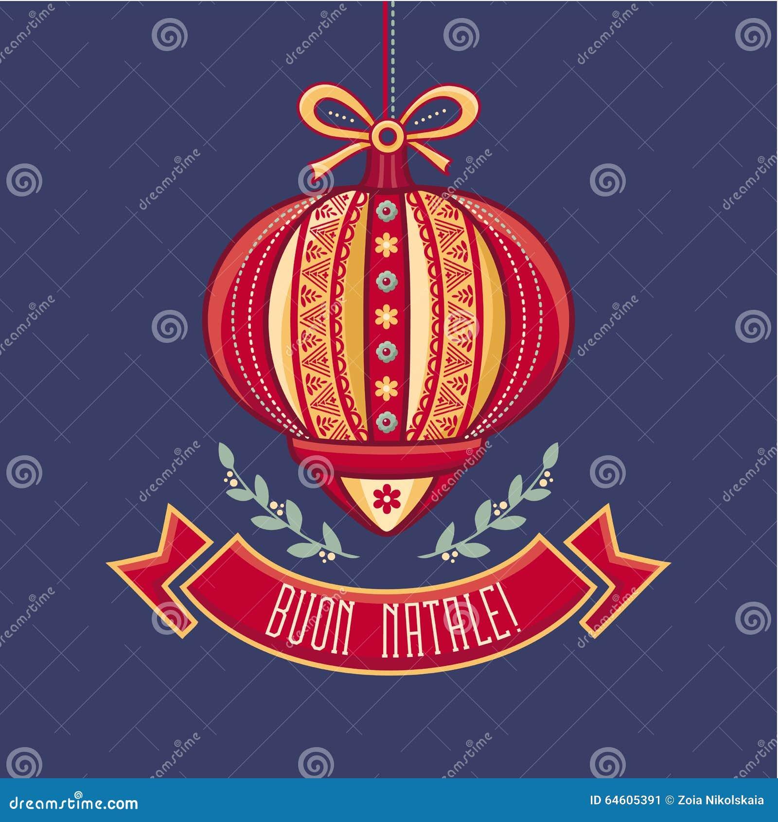 Merry christmas italy stock vector illustration of green 22141304 italy christmas card merry christmas greetings card stock illustration m4hsunfo