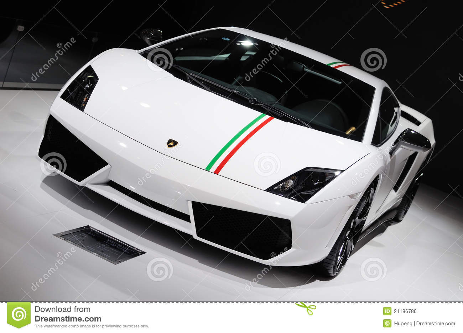 Italy Lamborghini Gallardo Lp 550 2 Tricolore Editorial Image