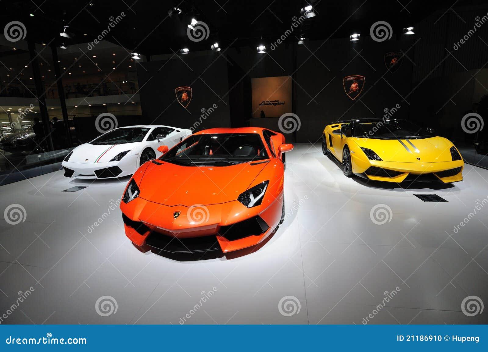 Italy Lamborghini pavilion