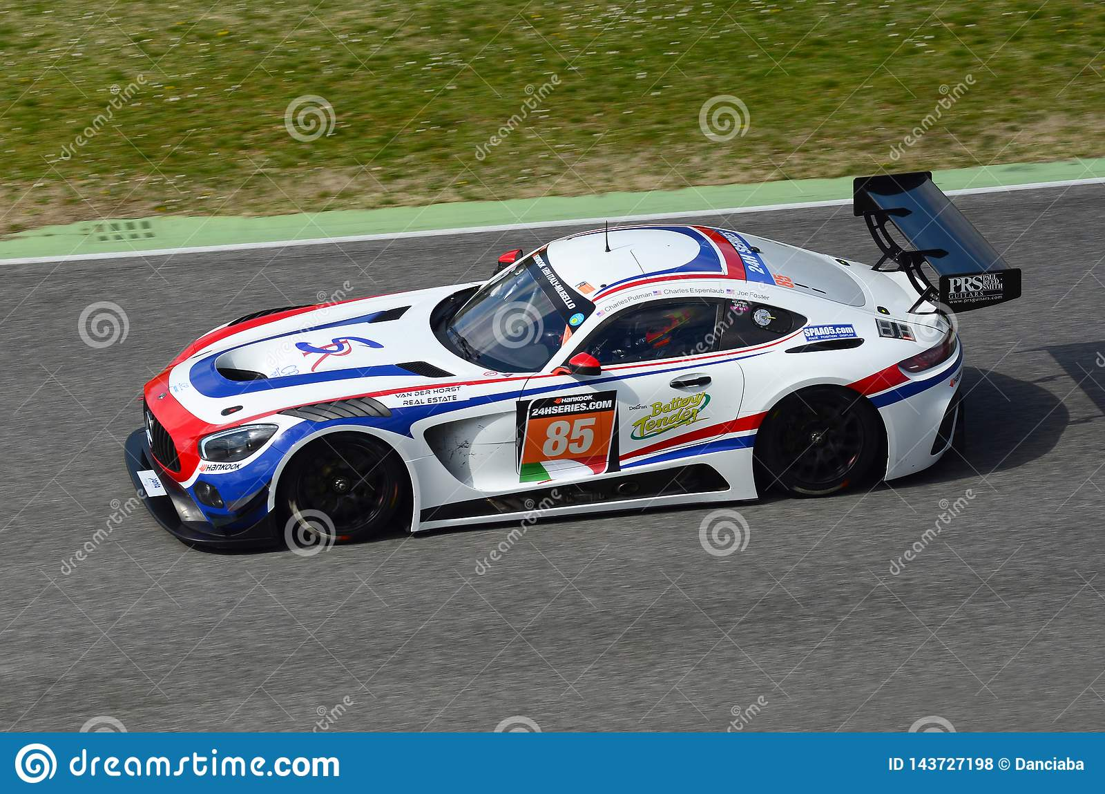 Italy - 29 March, 2019: Mercedes-AMG GT3 Of CP Racing United