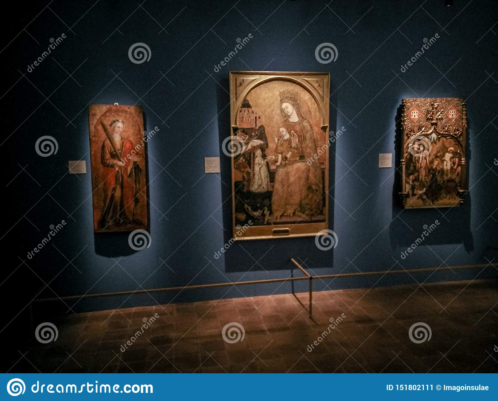 Italy. Matera, UNESCO site and European Capital of Culture 2019. Exhibition The Renaissance as seen from the South