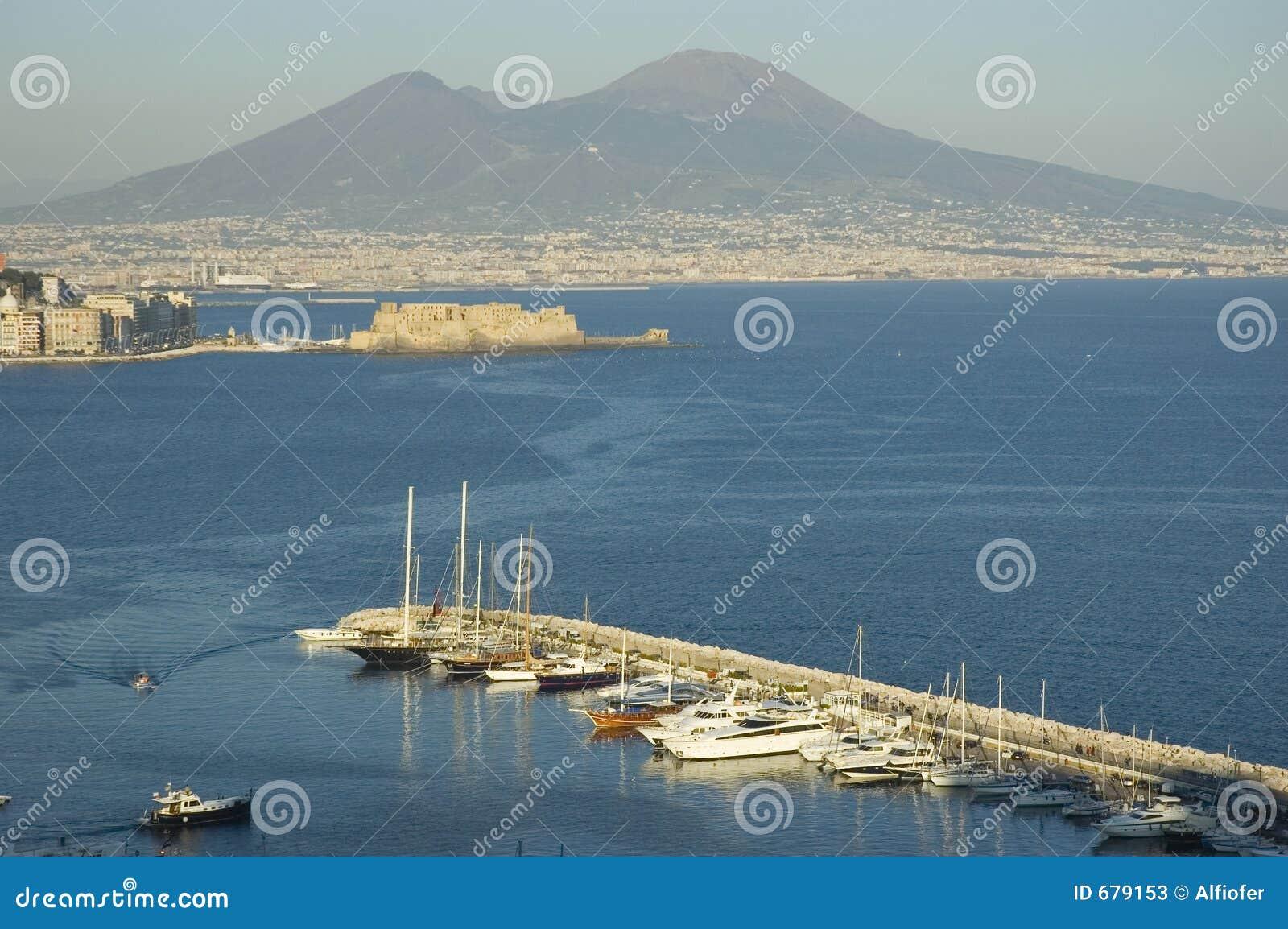 Italy naples sikt