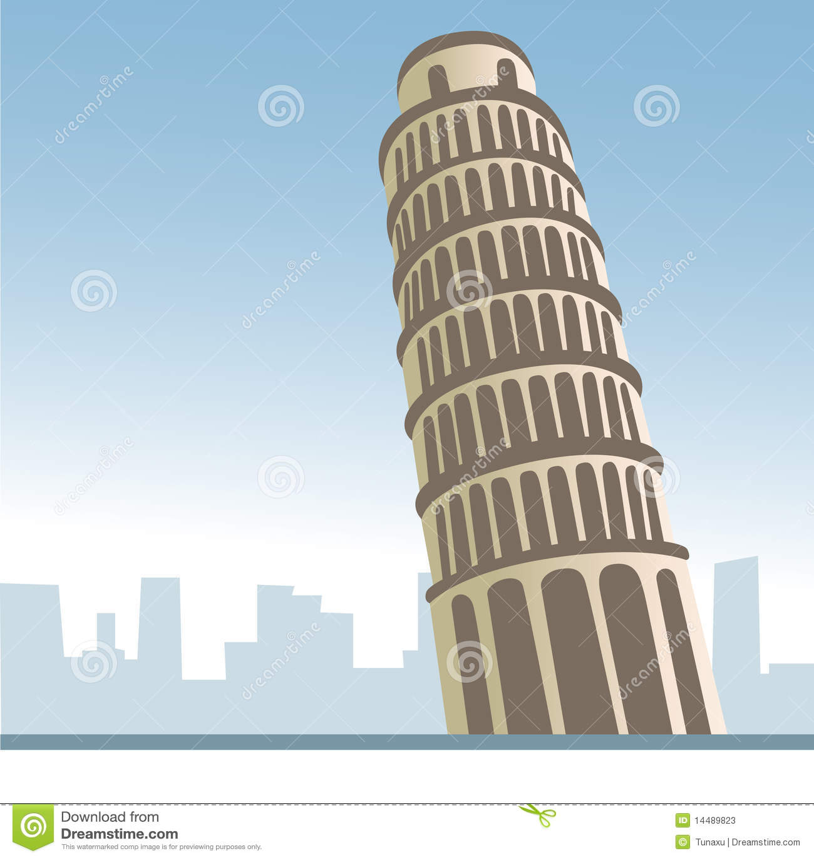 Italy pisa torn