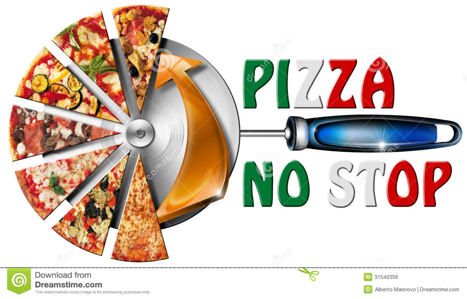 Pizza Cutter Clipart