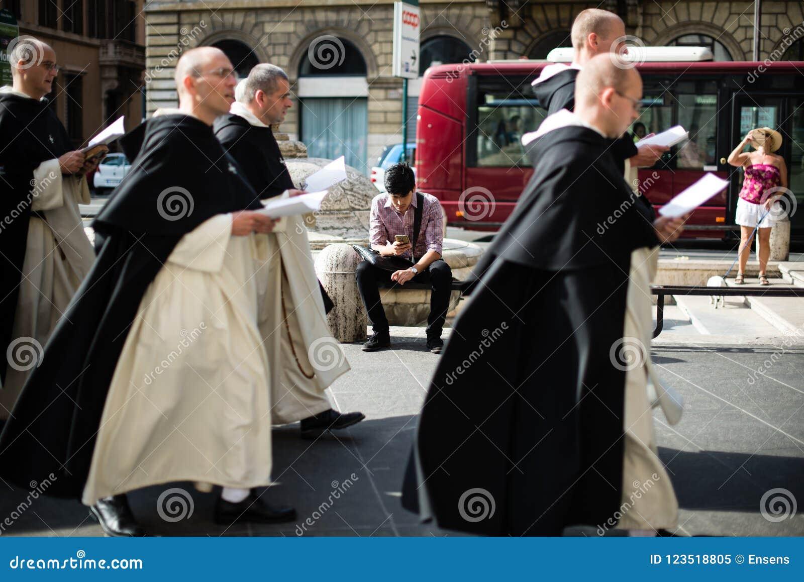 Italy-Rome - 7 September 2017 - celebration of the pilgrimage of