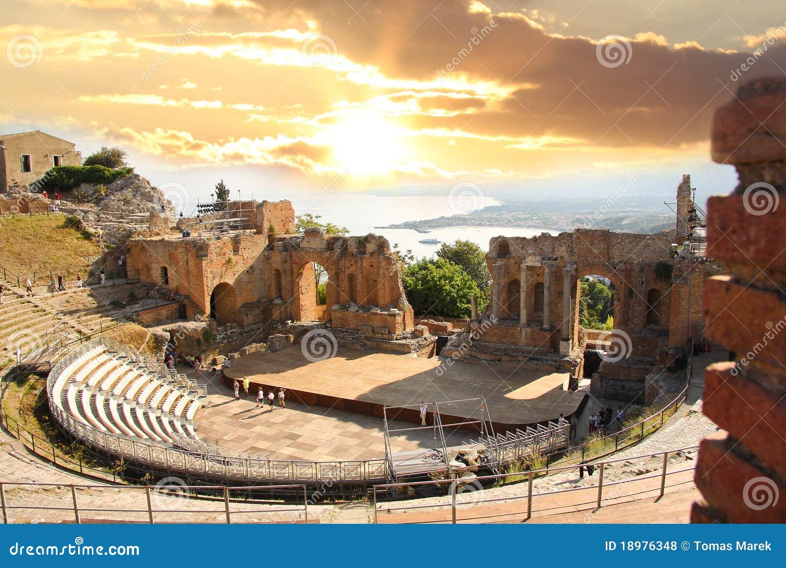 Italy sicily taorminateater
