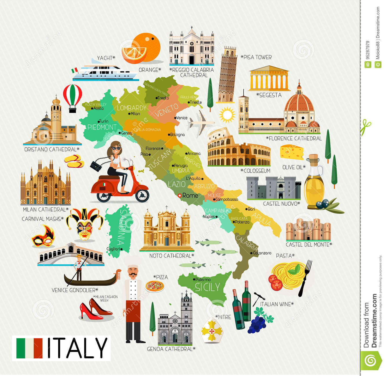 Italy Travel Map. stock vector. Illustration of naples ... on tourist map of sicily italy, tourist map of amalfi italy, tourist map of cannes france, tourist map of perth australia, tourist map of nairobi, tourist map of bahrain, tourist map of lyon france, tourist map of venice italy, tourist map of santorini greece, tourist map of sorrento italy, tourist map of malaga spain, tourist map of siena italy, tourist map of milan italy, tourist map of delhi india, tourist map of rio de janeiro brazil, tourist map of buenos aires argentina, tourist map of kuwait, tourist map of villefranche france, tourist map of warsaw poland, tourist map of rome italy,