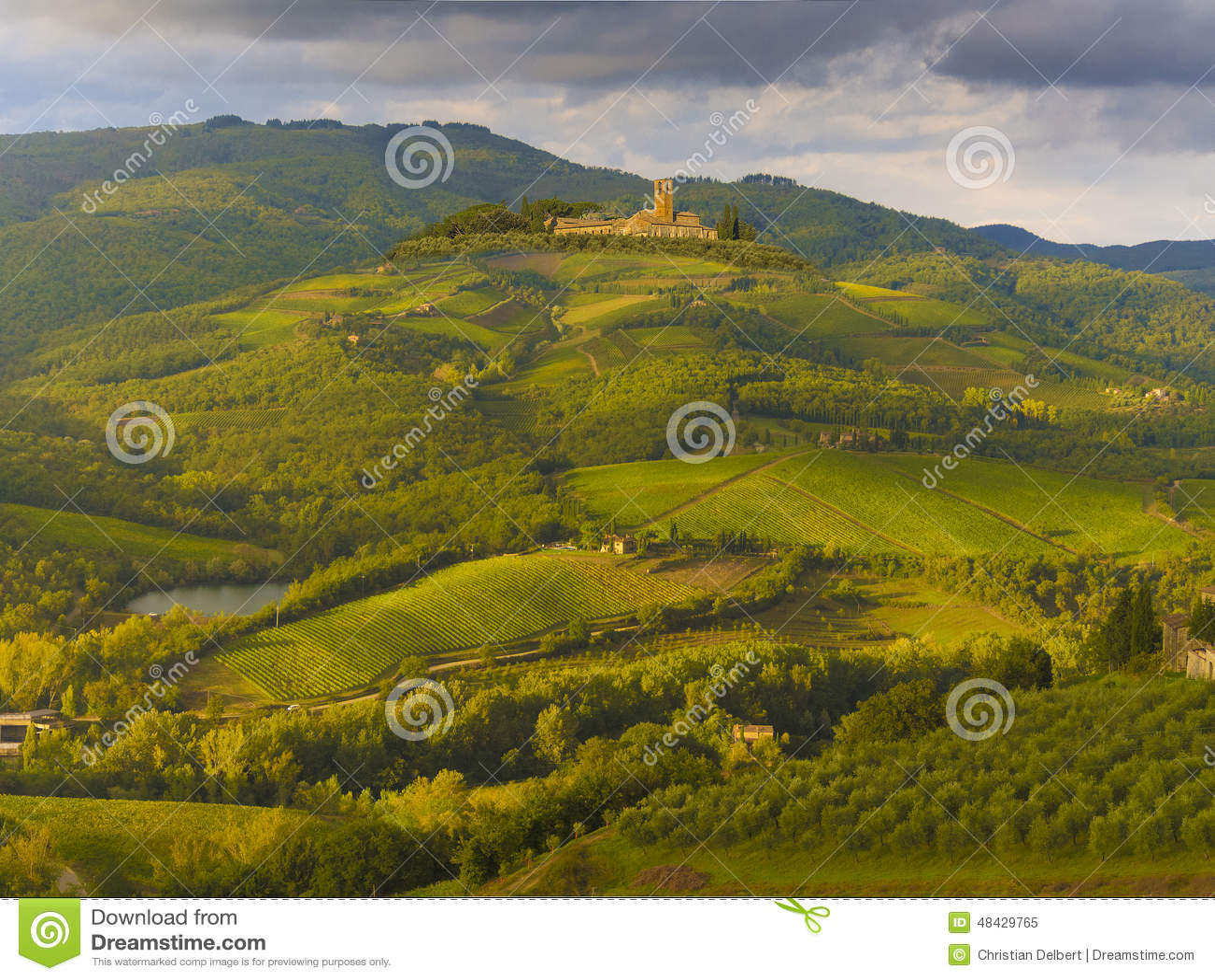 Italy winnicy Tuscany