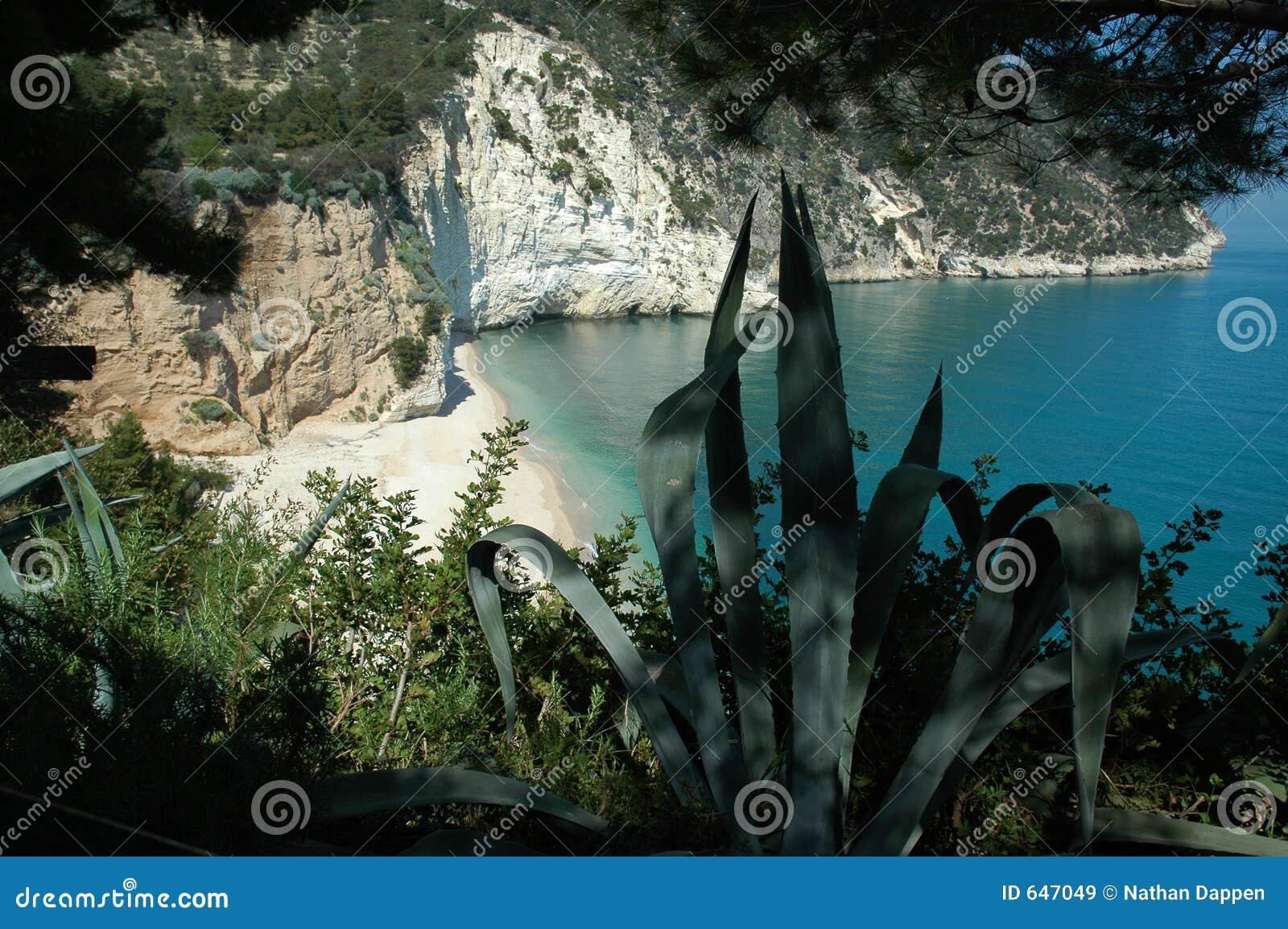 Italys Adria Küste