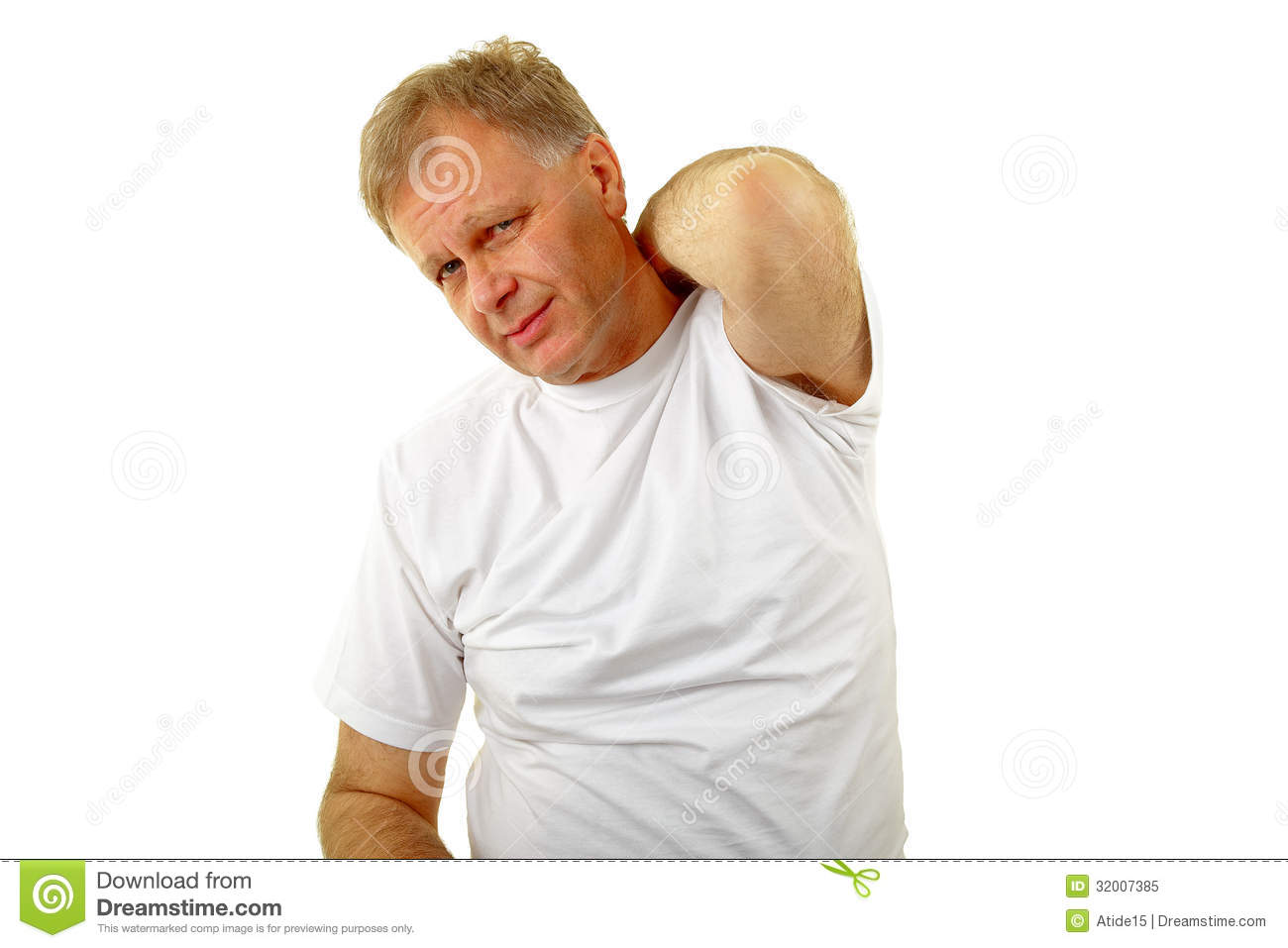 Itching Royalty Free Stock Photo - Image: 32007385
