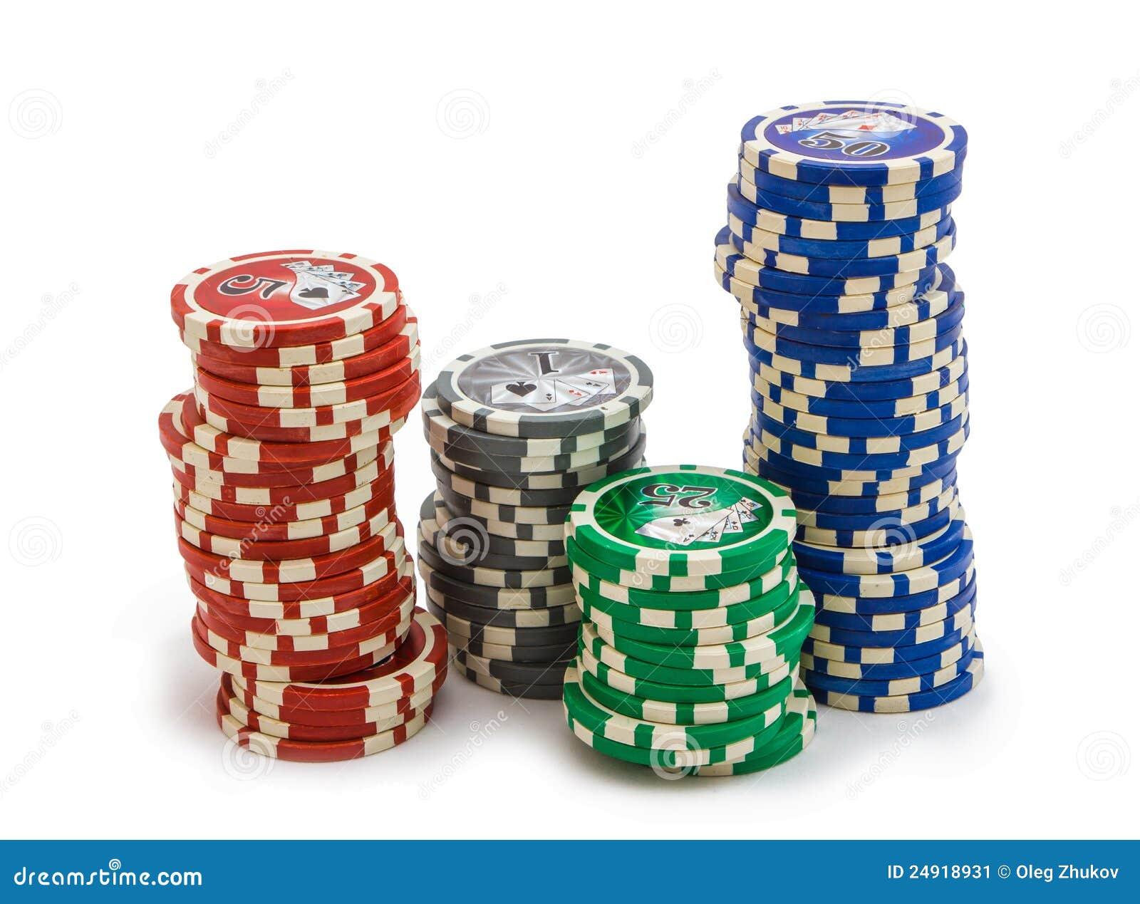 Как разложены карты в казино