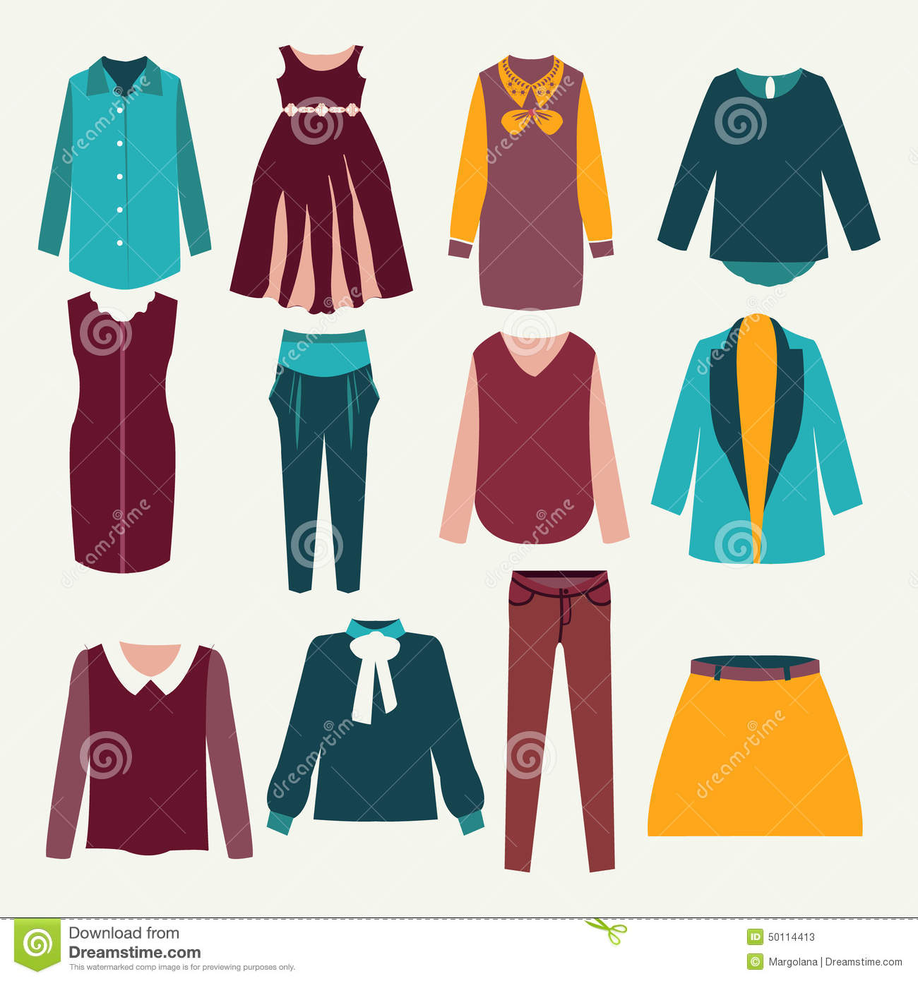 Clothing Design Illustrator clothing Illustration