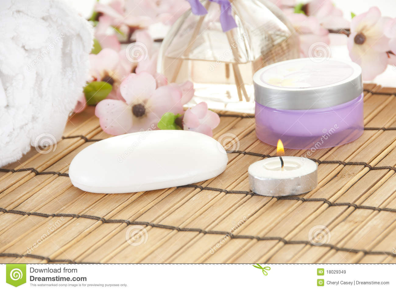Items in spa for relaxing