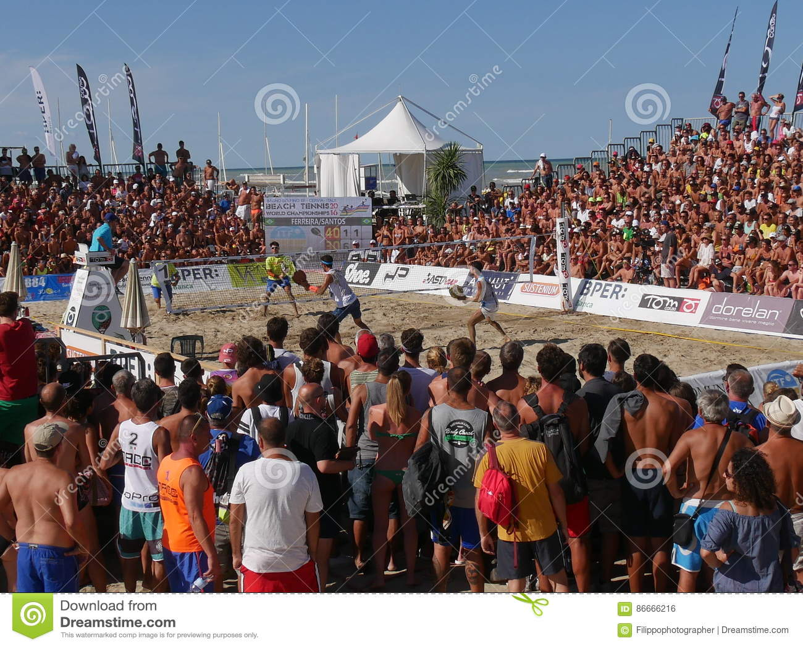 ITF Beach Tennis World Championship 2016 – The Beach Arena Editorial ...
