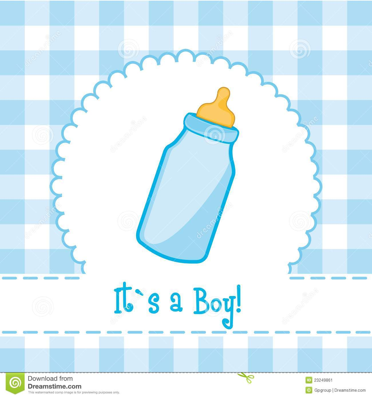 Its A Boy Stock Image Image 23249861