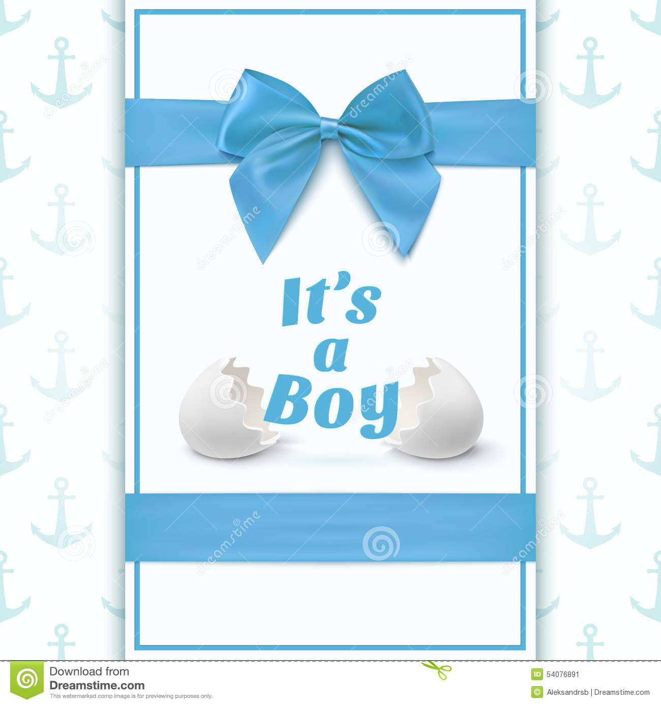 Template For Baby Shower. Royalty Free Vector  Baby Shower Flyer Template Free
