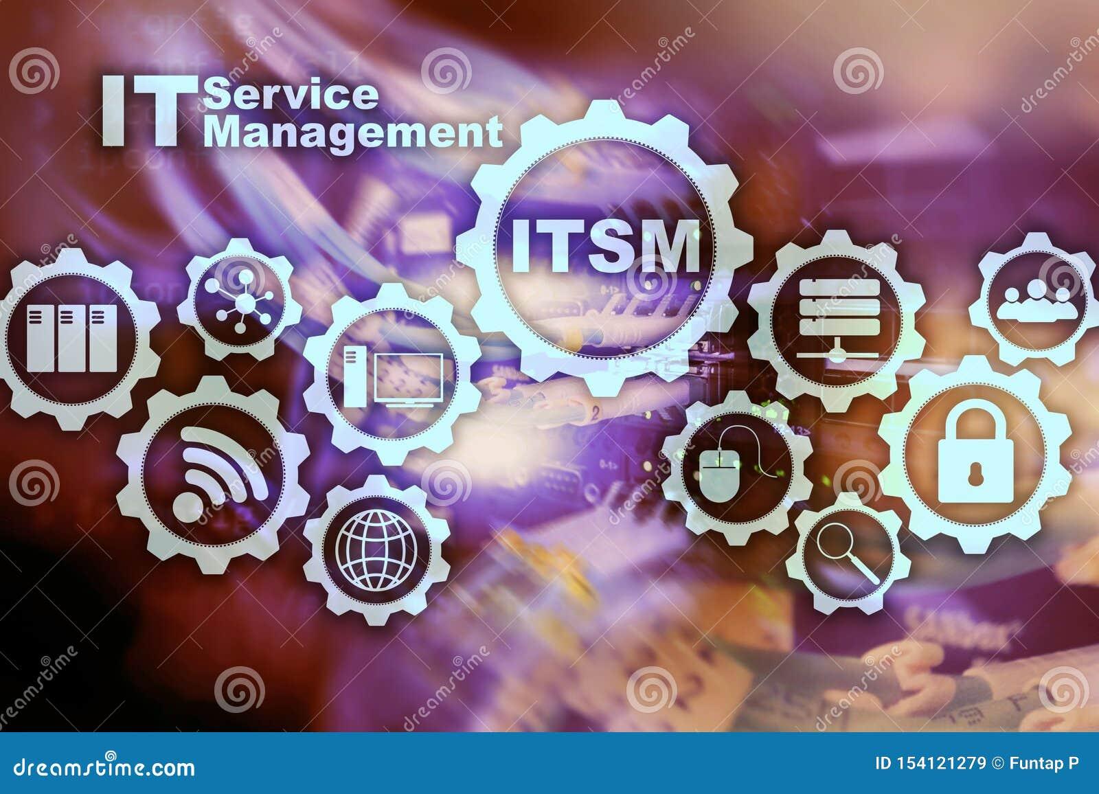 ITSM. it Service Management. Concept for Information Technology ...