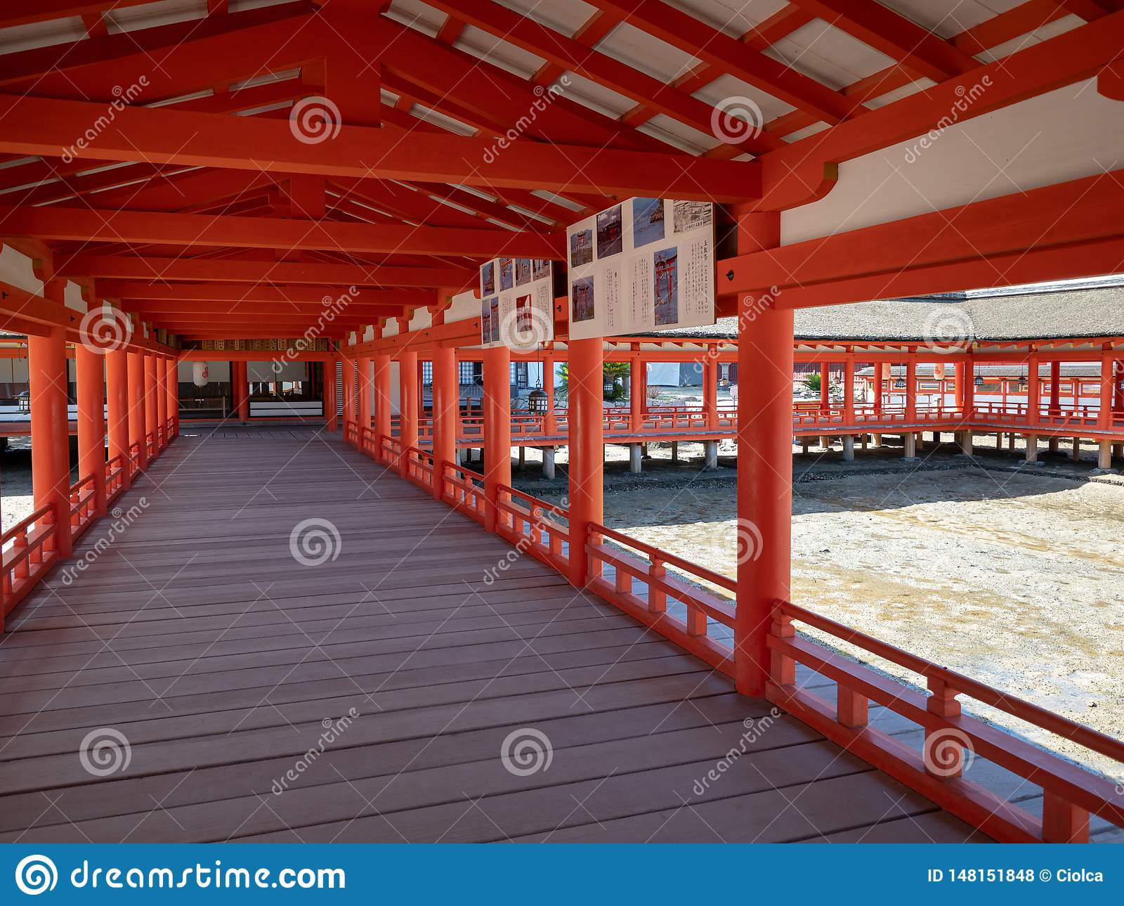 Itsukushima-Schrein, Japan