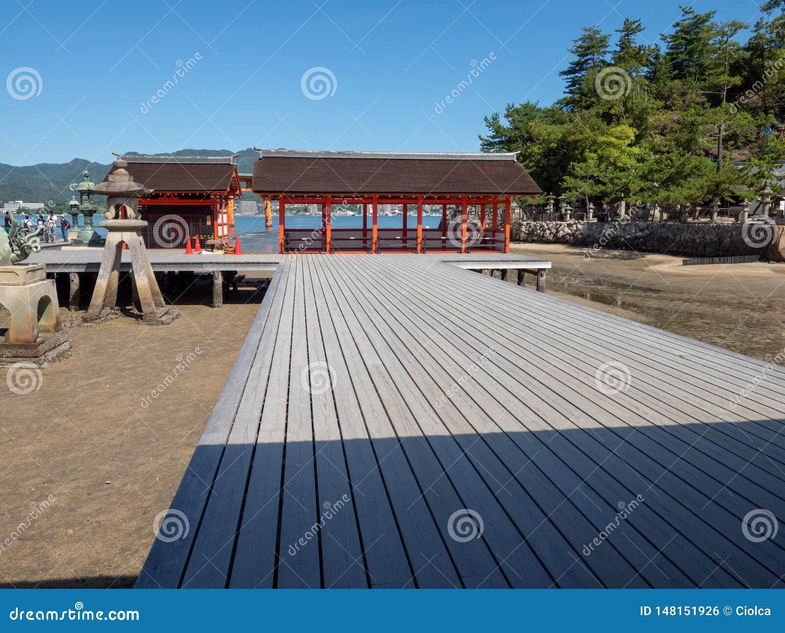 Itsukushimaheiligdom, Japan