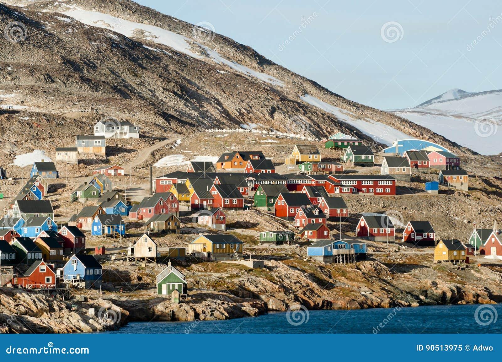 Ittoqqortoormiitdorp - Groenland