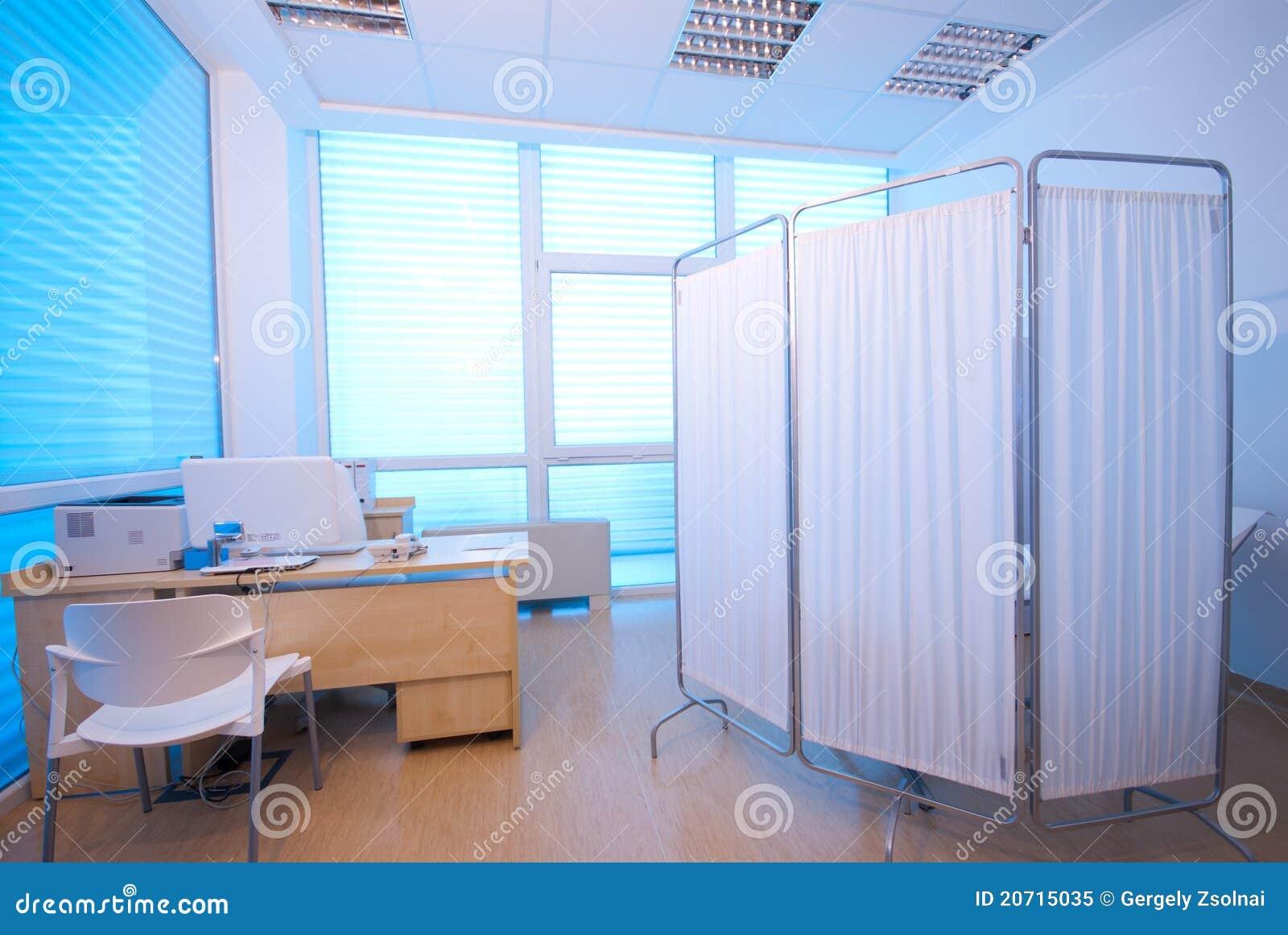 Iv-läkarundersökninglokal