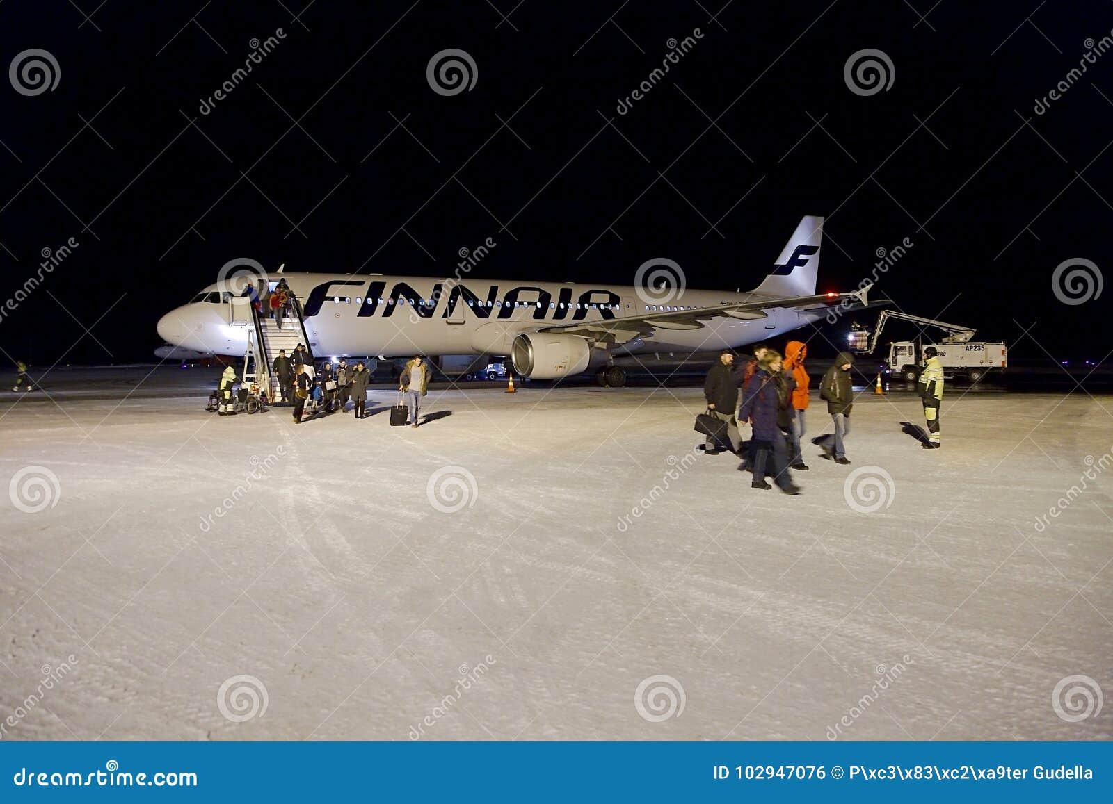 Finnair Helsinki Ivalo