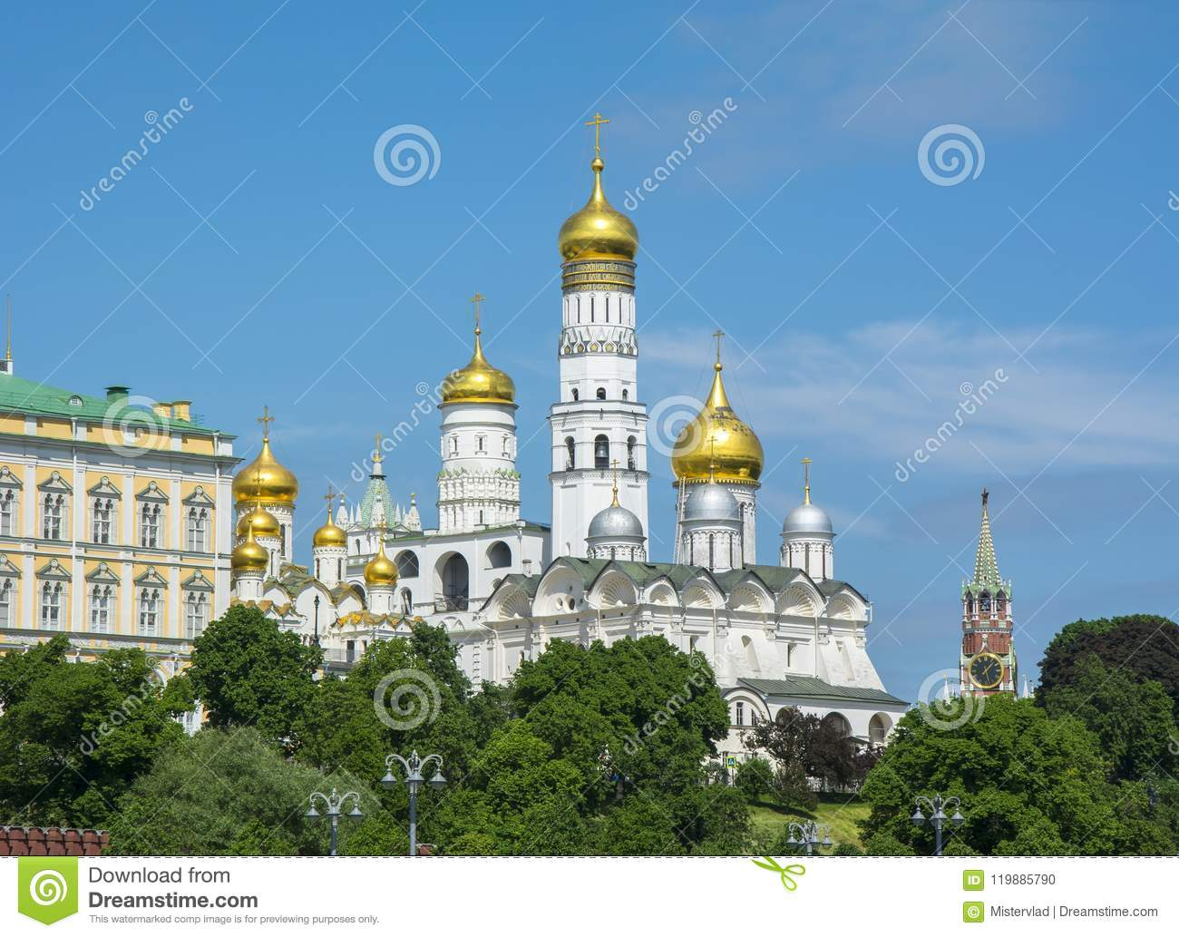 Ivan the Great Bell Tower in Moscow Kremlin, Russia
