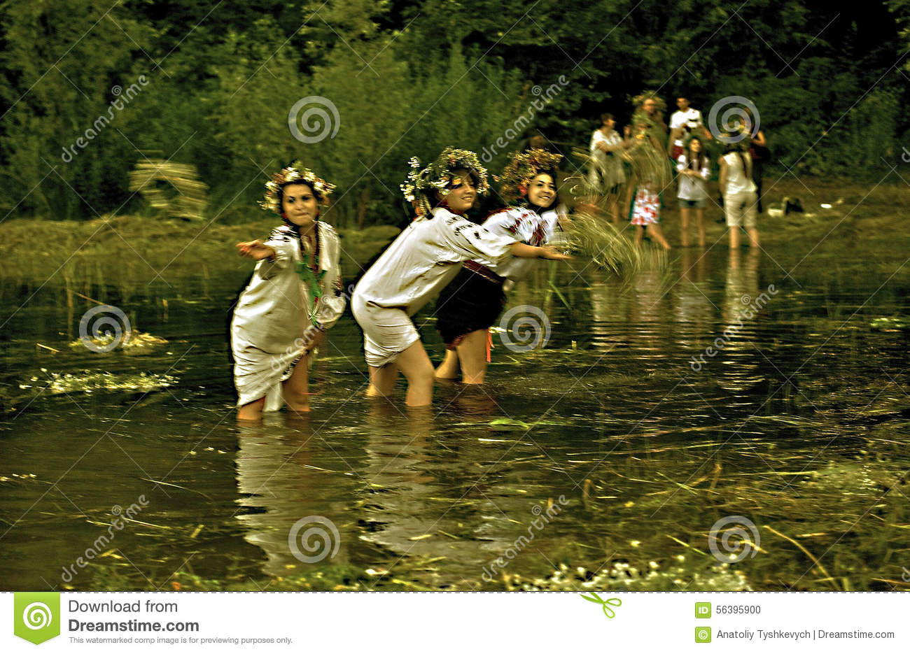 The magic holiday is the day of Ivan Kupala