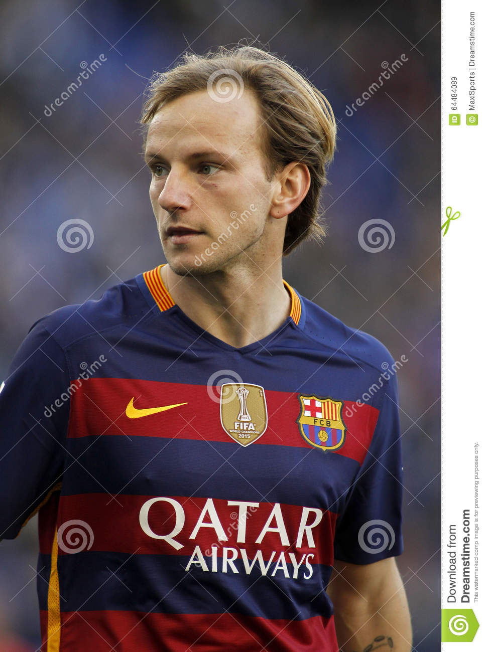 Ivan Rakitic FC Barcelona Editorial Stock Image Image