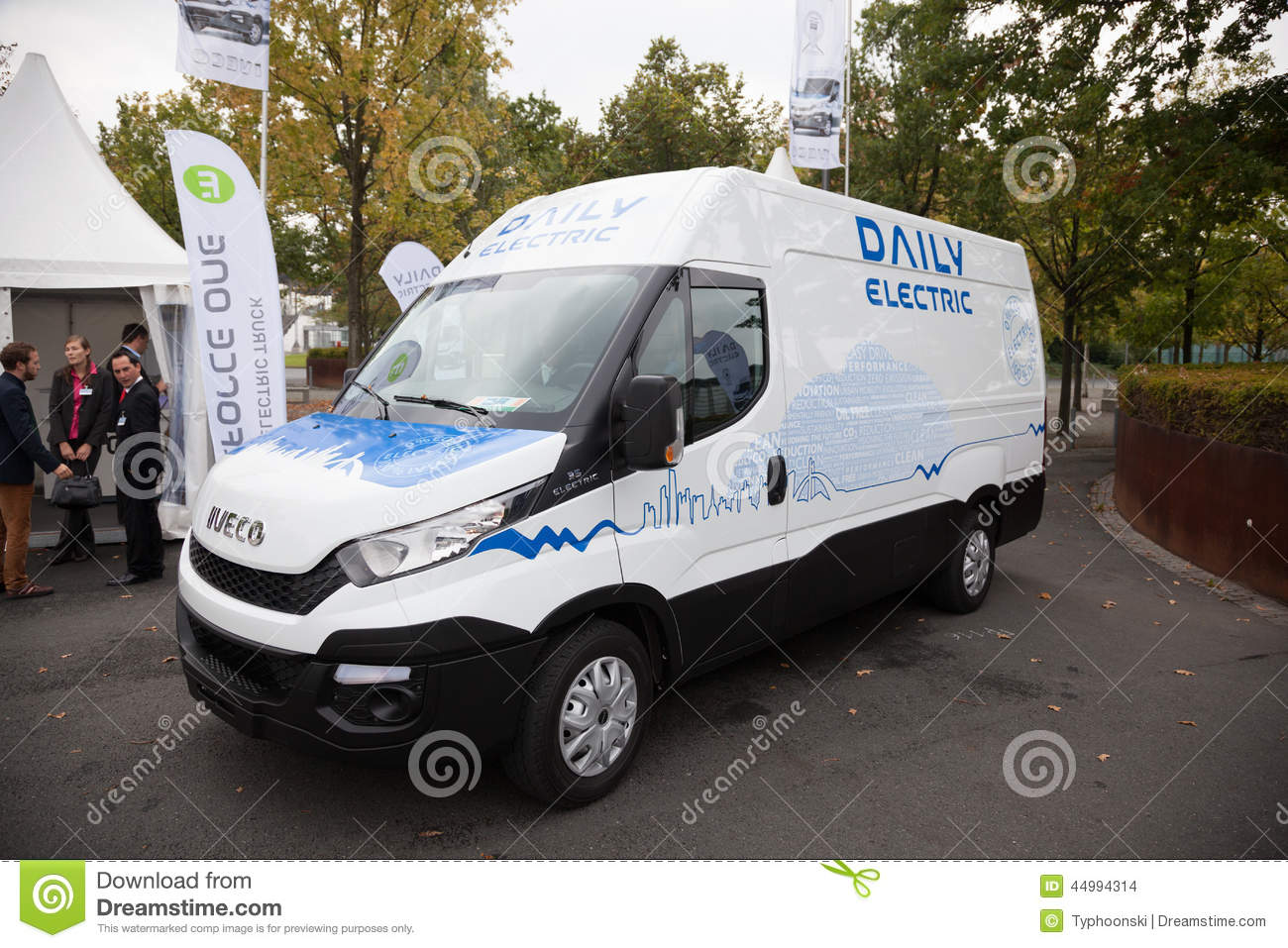 iveco daily electric transporter editorial stock image image of rh dreamstime com Iveco Daily 4x4 Iveco Daily 4x4