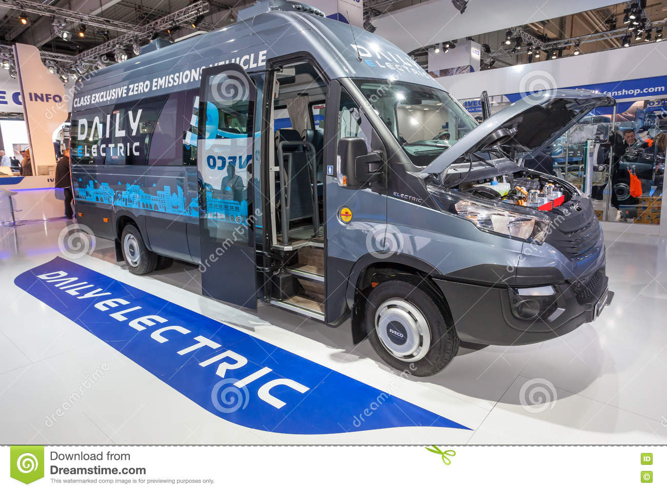 iveco daily electric van editorial photo image of automotive 77996176 rh dreamstime com Iveco Daily Van Iveco Daily Chassis