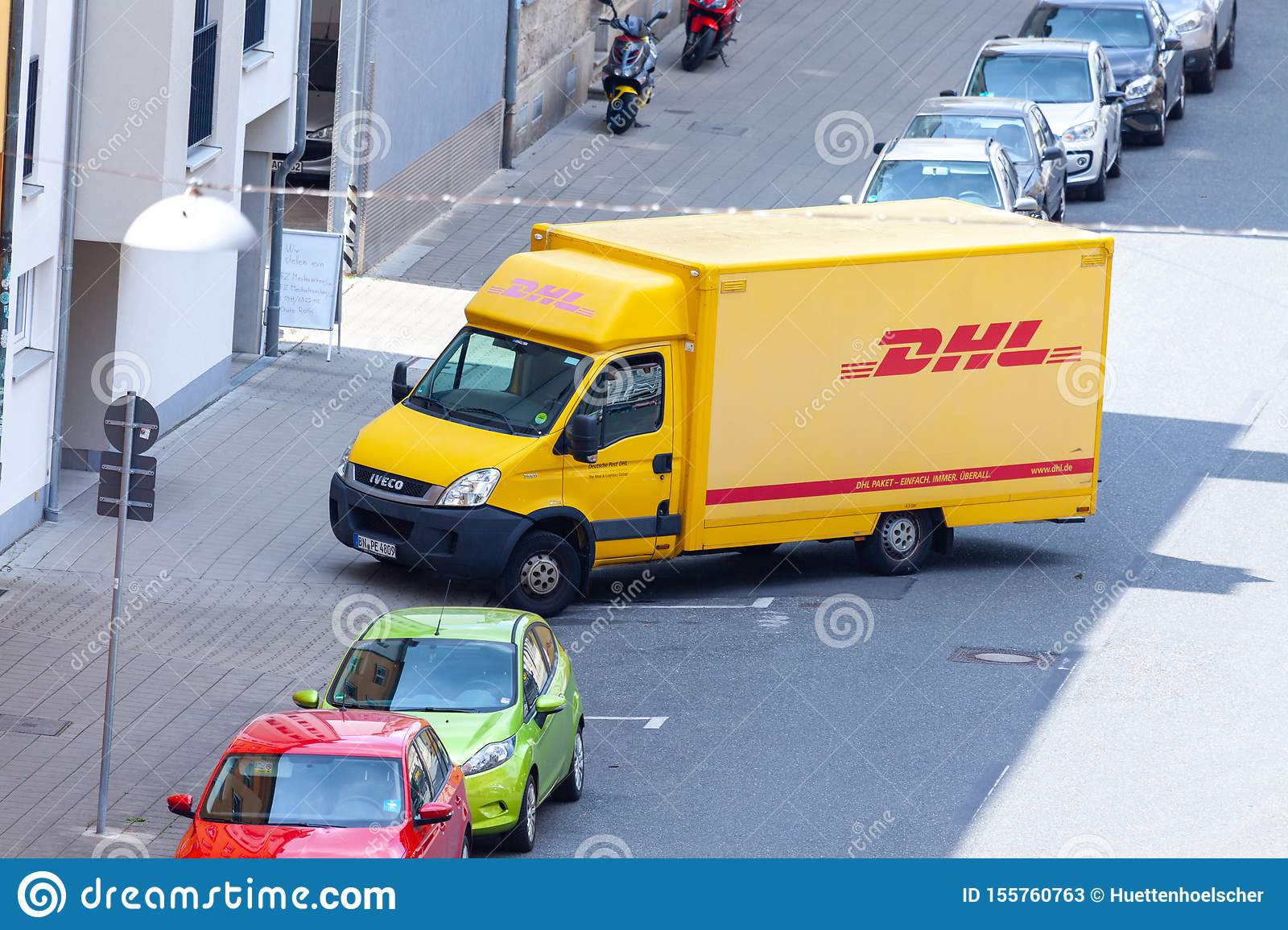 Iveco Transporter From International Courier Parcel And