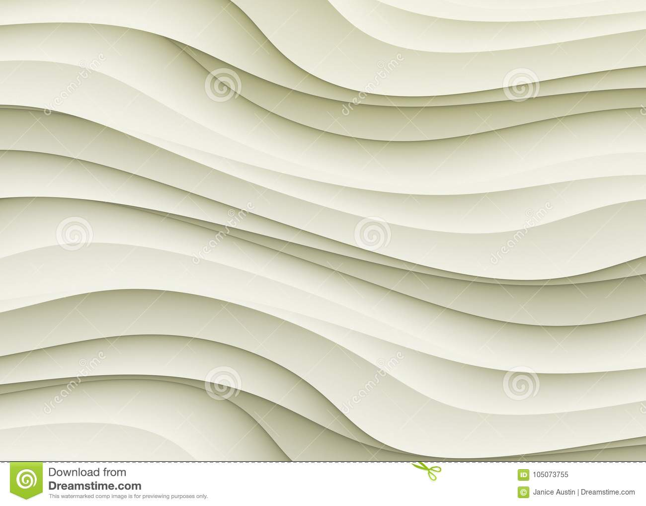 Ivory Beige Gray Curves Abstract Background Wallpaper Design