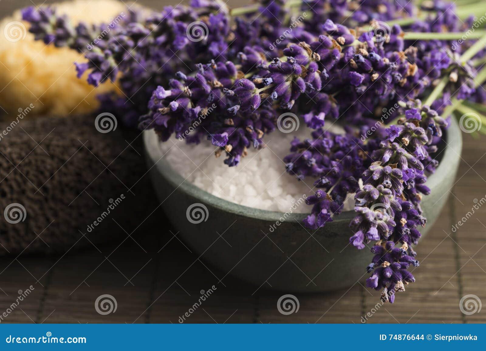 Ivy lavender soap spa πετσέτα