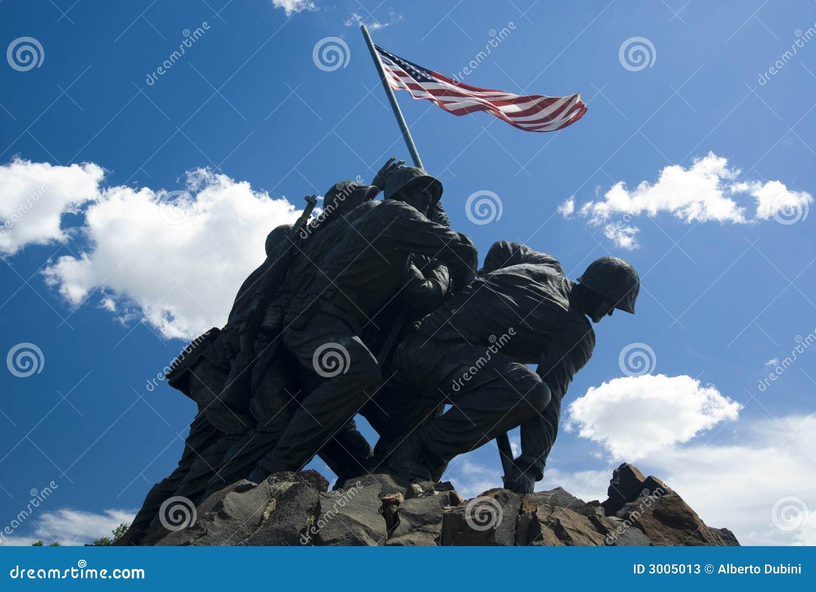 Iwo Jima commémoratif marin