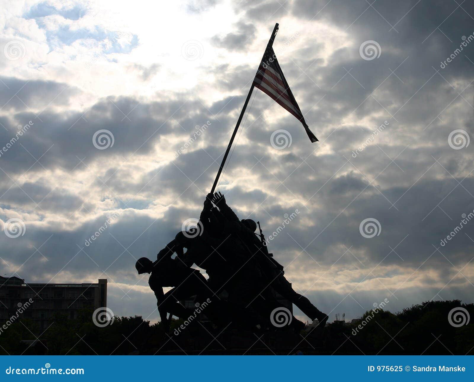 Iwo Jima minnesmärke