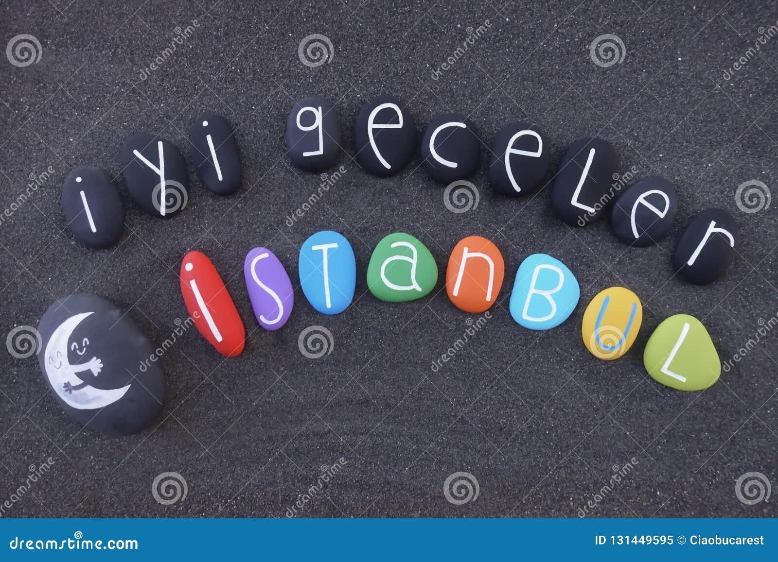 Auf guten türkisch nacht Begrüßen und