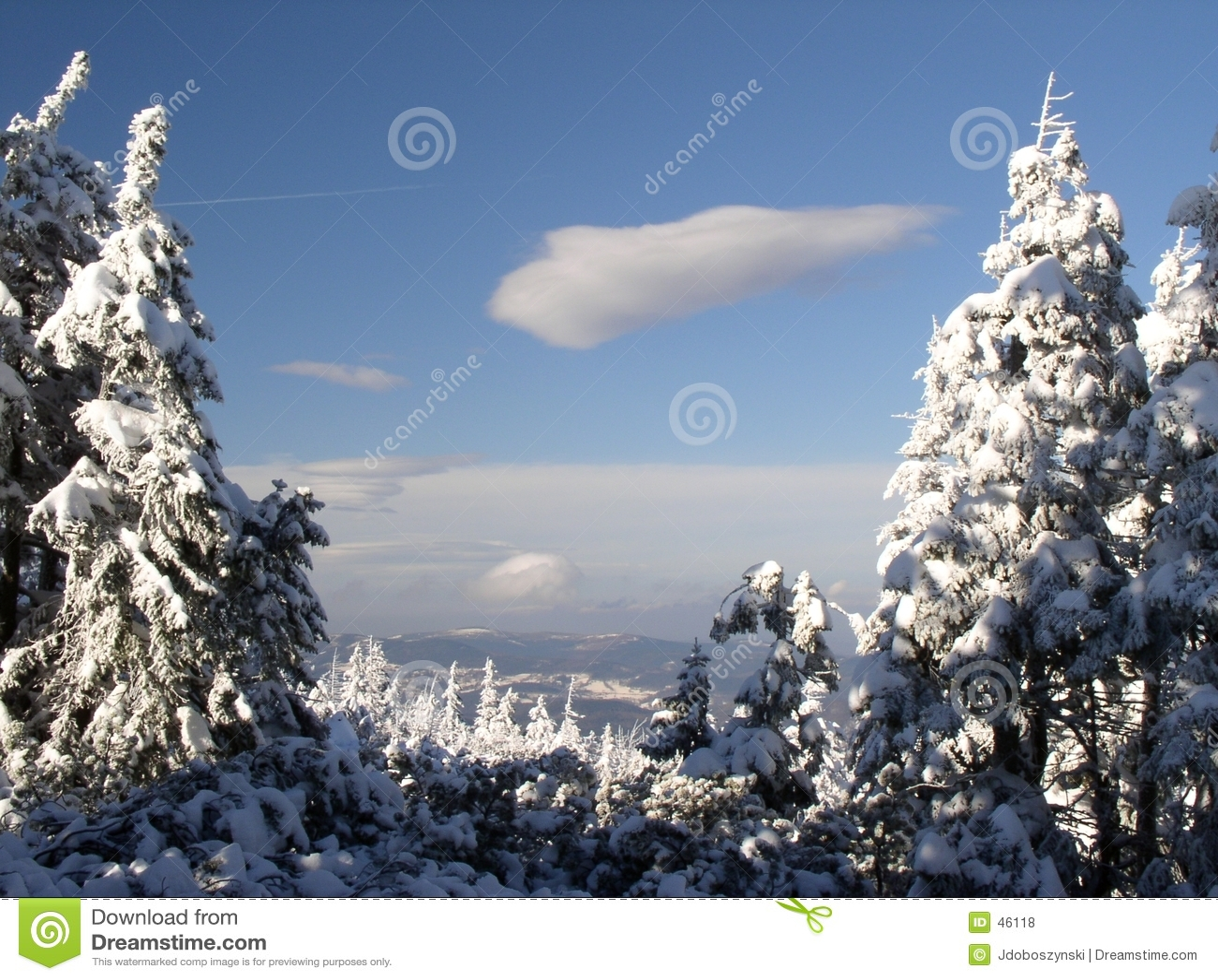 Izerskie όψη βουνών