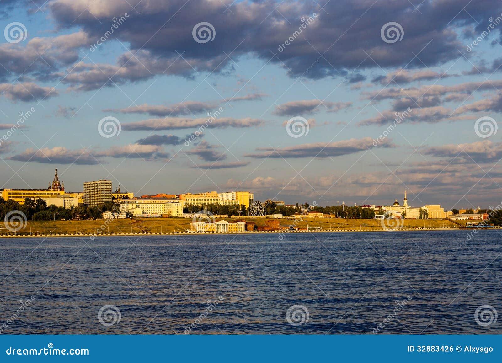 Izhevsk royalty free stock image image 32883426 for Design of pond embankment