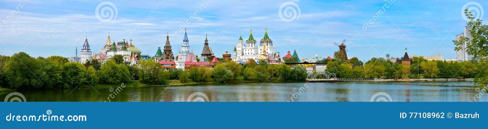 Izmailovo het Kremlin