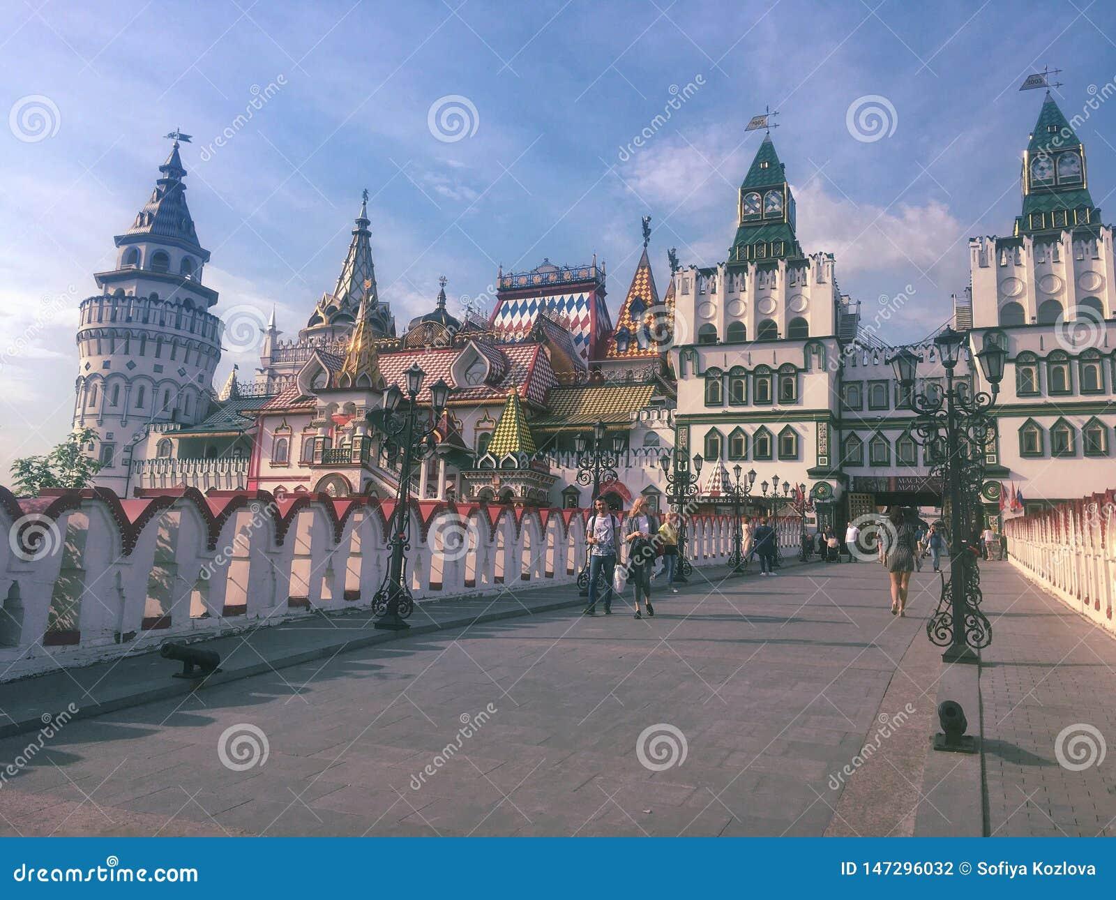 Izmailovo Kremlin em Moscovo