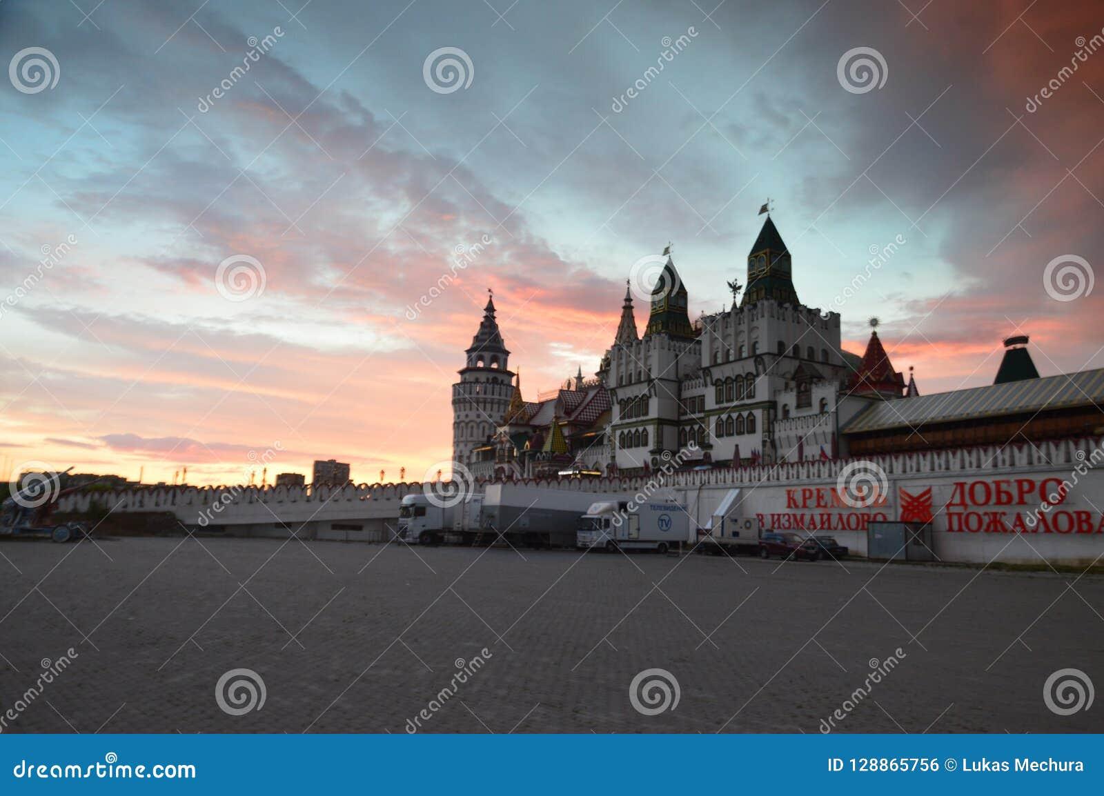 Izmaylovo Kremlmarknad, Moskva, rysk federation