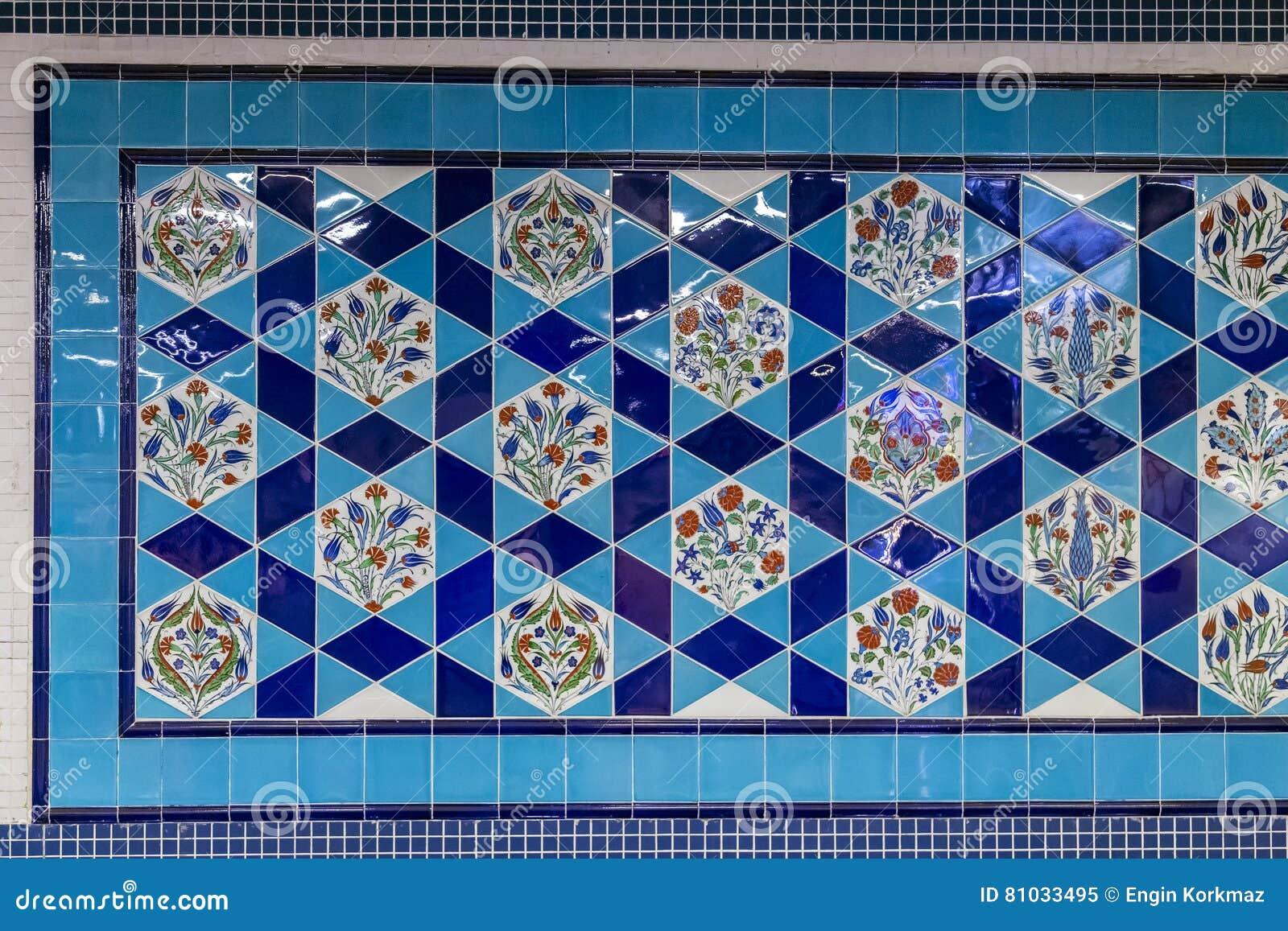 Iznik Fliesen Stockbild Bild Von Architektur Dekoration 81033495
